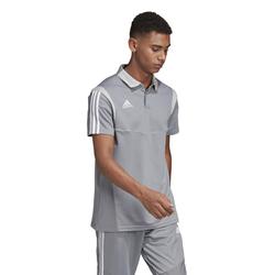 Adidas Herren Poloshirt TIRO19 Co Polo grey/white - XL