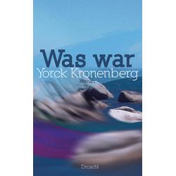 Was war als Buch von Yorck Kronenberg