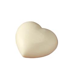 Saling Schafmilchseife - Herz weiß 65g