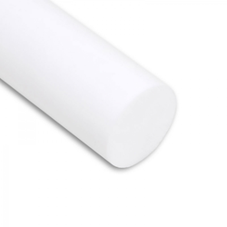 PTFE Rundstab virginal extrudiert - Ø 40 mm - L: 200 mm