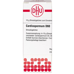 CARDIOSPERMUM D 60 Globuli 10 g