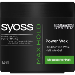 Syoss Max Hold Power Wax (1x 150ml)