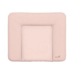Geuther Wickelauflage Wickelauflage Dekor Weiß, 85x75 cm rosa