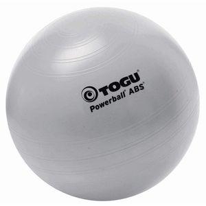 Togu Gymnastikball Powerball ABS, groß, 65cm, belastbar bis 500kg, silber
