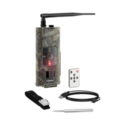 Wildkamera - 8 MP - Full HD - 48 IR-LEDs - 20 m - 0,5 s - 3G