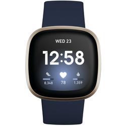 Fitbit Versa 3 Blau/Gold