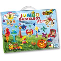 JUMBO Bastelkoffer 107 teilig