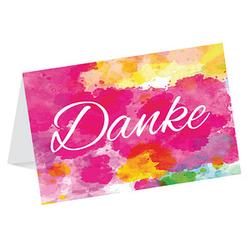 LUMA Dankeskarte Farben DIN B6