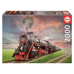Educa - Dampflokomotive 2000 Teile Puzzle