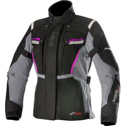 Alpinestars Stella Bogota V2, Textiljacke Drystar Damen - Schwarz/Dunkelgrau - XL