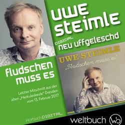 Uwe Steimle: Fludschen muss es als Hörbuch Download von Uwe Steimle