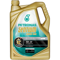 PETRONAS Motoröl Syntium 5000 DM 5 W - 30 goldfarben 5 l