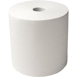 zetPutz Multisoft® Poliertuchrolle, 4-lagig, weiss, 1 Rolle = 1.000 Abrisse à 38 cm/38 cm breit, 1 Palette = 30 Pakete = 30 Rollen