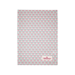 Greengate Geschirrtuch Greengate Geschirrtuch LEAH Pale Pink Rosa