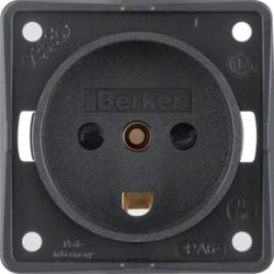 Berker 9627205 ,Steckdose mit SK mit EBS Dänemark ITG sw