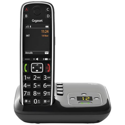 Gigaset E720A DECT, GAP, Bluetooth® Schnurloses Telefon analog Anrufbeantworter, Babyphone, Bluetoo