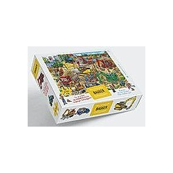Mein riesengroßes Bagger Wimmelpuzzle (Kinderpuzzle)