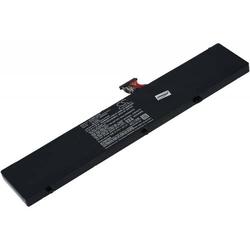 Powery Akku für Laptop Razer Pro 4K, 11,4V, Li-Polymer