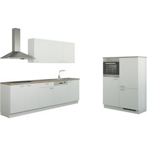 Küchenzeile ohne Elektrogeräten  Chemnitz ¦ weiß