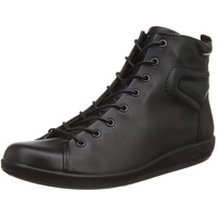 ECCO Soft 2.0 Chelsea Boots, Schwarz (BLACKWITHBLACKSOLE 56723), 37 EU