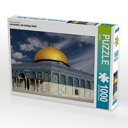 Jerusalem, die heilige Stadt Lege-Größe 64 x 48 cm Foto-Puzzle Bild von Rufotos Puzzle
