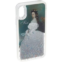 Schloss Schönbrunn Handyhülle iPhone X, Schloss Schönbrunn Sisi Hülle iPhone X Hardcover- Kunstvolle Glitzer Handyhülle Einzigartige Schutzhülle für Case iPhone (Sisi - iPhone X)