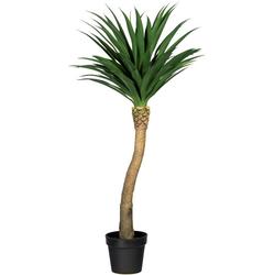 Künstliche Zimmerpflanze Yuccapalme Hochstamm Yuccapalme Hochstamm, Creativ green, Höhe 120 cm