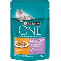 Purina One Sensitive Nassfutter mit Huhn