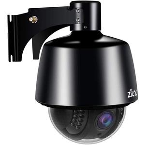 ZILNK PTZ IP Kamera 5MP Dome WLAN Outdoor, 1920P Super HD Überwachungskamera Aussen Videoüberwachung, 5-facher Optischer Zoom, Nachtsicht, Bewegungsalarm, 64G SD-Kartenunterstützung