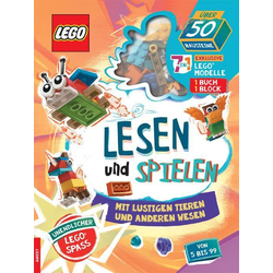 LEGO® Lesen und Spielen mit lustigen Tieren und anderen Wesen