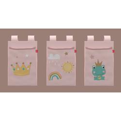 Flexa Textil Betttaschen little Princess 3er-Set 83-90255