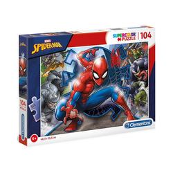 Clementoni® Puzzle Puzzle 104 Teile - Spiderman, Puzzleteile