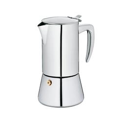 Espressokanne Latina Edelstahl 18/10 silber glänzend 17,0cm 9,5cmØ 200,0ml