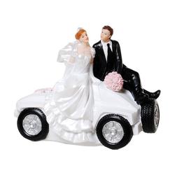Udo Schmidt Bremen...das Original Spardose Spardose Brautpaar im Auto 15 cm Hochzeit Sparschwein