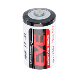 Eve Lithium 3,6V Batterie ER14250V 1/2AA Batterie -55 °C bis 85 °C Grad