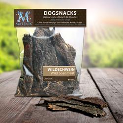 (35,63 EUR/kg) MATDOX Dogsnack BIG-PACK Wildschwein 300 g