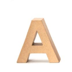 VBS Deko-Buchstaben Papp-Buchstabe, 17,5 cm hoch 17.5 cm x 17.5 cm x 5.5 cm