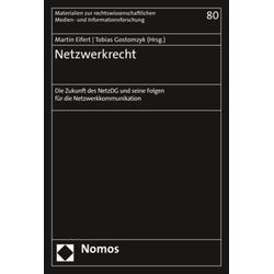 Netzwerkrecht als Buch von