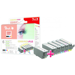 Peach PI100-88 Tintenpatrone kompatibel zu Canon C-520XL/C-521XL Tintenpatrone