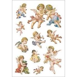 HERMA 3338 10x Sticker DECOR Nostalgische Engel beglimmert