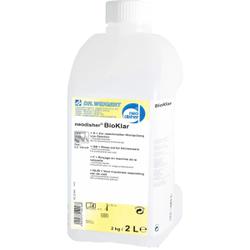 Dr. Weigert neodisher® Bioklar Klarspüler, Klarspülmittel für Geschirr-, Container-, Topf- und Gerätespülmaschinen, 2 Liter - Flasche