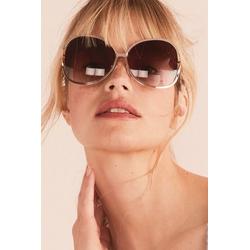 Next Sonnenbrille Runde Sonnenbrille mit Cutouts