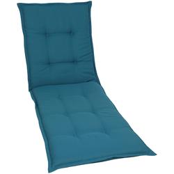 GO-DE Liegenauflage, Rollliegenauflage blau Liegenauflagen Gartenmöbel-Auflagen Gartenmöbel Gartendeko Liegenauflage
