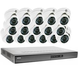Videoüberwachung Set 16x IR Dome Überwachungskamera 600/720TVL