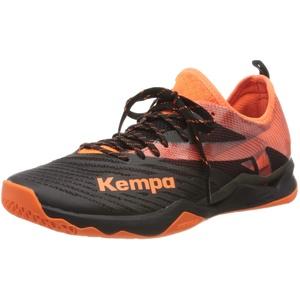 Kempa WING LITE 2.0, Herren Handballschuhe, Mehrfarbig (Schwarz/Fluo Orange 02), 48 EU (13 UK)