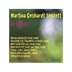 Martina Gebhardt Septett - In Spring (CD)