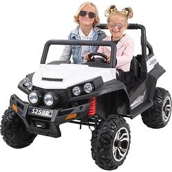 Kinder Elektroauto Maverick Offroad Buggy schwarz/weiß