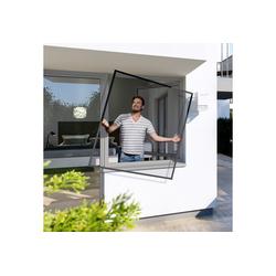 Windhager Insektenschutz-Fenster Spannrahmen PLUS, BxH: 100x120 cm