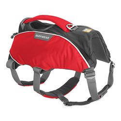 Ruffwear Web Master Pro Hundegeschirr, XS, Brust 43-56 cm, Red Currant