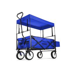 Deuba Bollerwagen, Faltbar blau